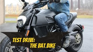 2015 Ducati diavel Test Drive (The Bat Bike)