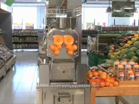 zumex speed self service podium orange citrus juicer z38 youtube. Black Bedroom Furniture Sets. Home Design Ideas
