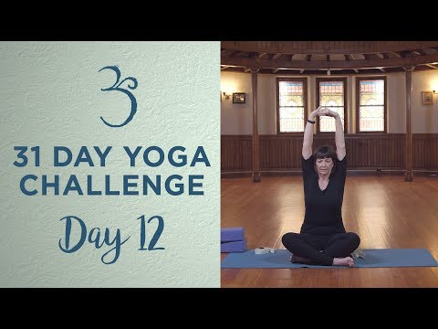 Day 12 - Slow Flow Yoga with Gail Keeley - 31 Day Yoga Challenge
