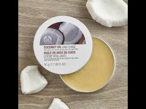 The body shop Coconut Oil hair shine | My Confettis