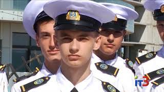 Посвящение в студенты первокурсников Черноморского морского колледжа