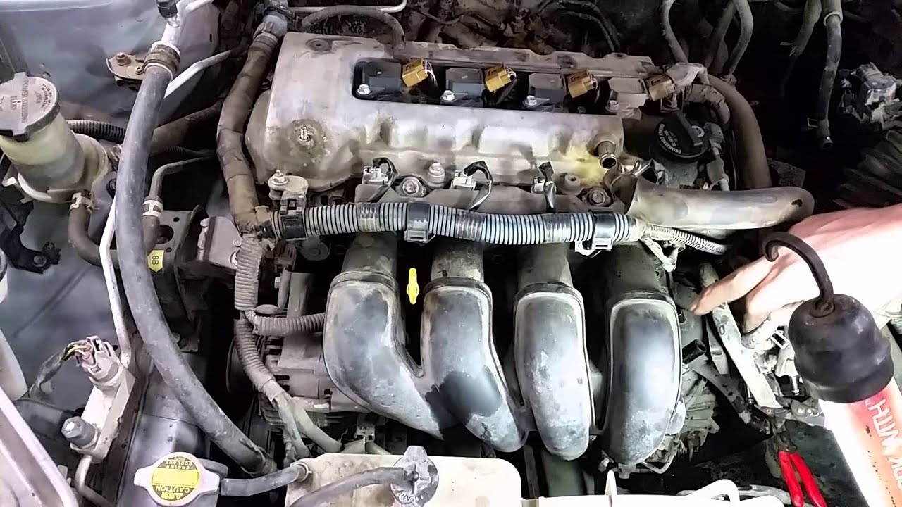 Replace Intake Manifold Gasket Toyota Corolla Matrix Vibe Youtube