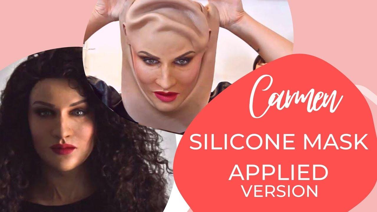 Silicone Mask - Carmen Applied Version - Crea Fx