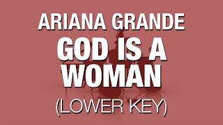 God Is A Woṁan (Ariana Grande) - Lower Key Live Instrumental
