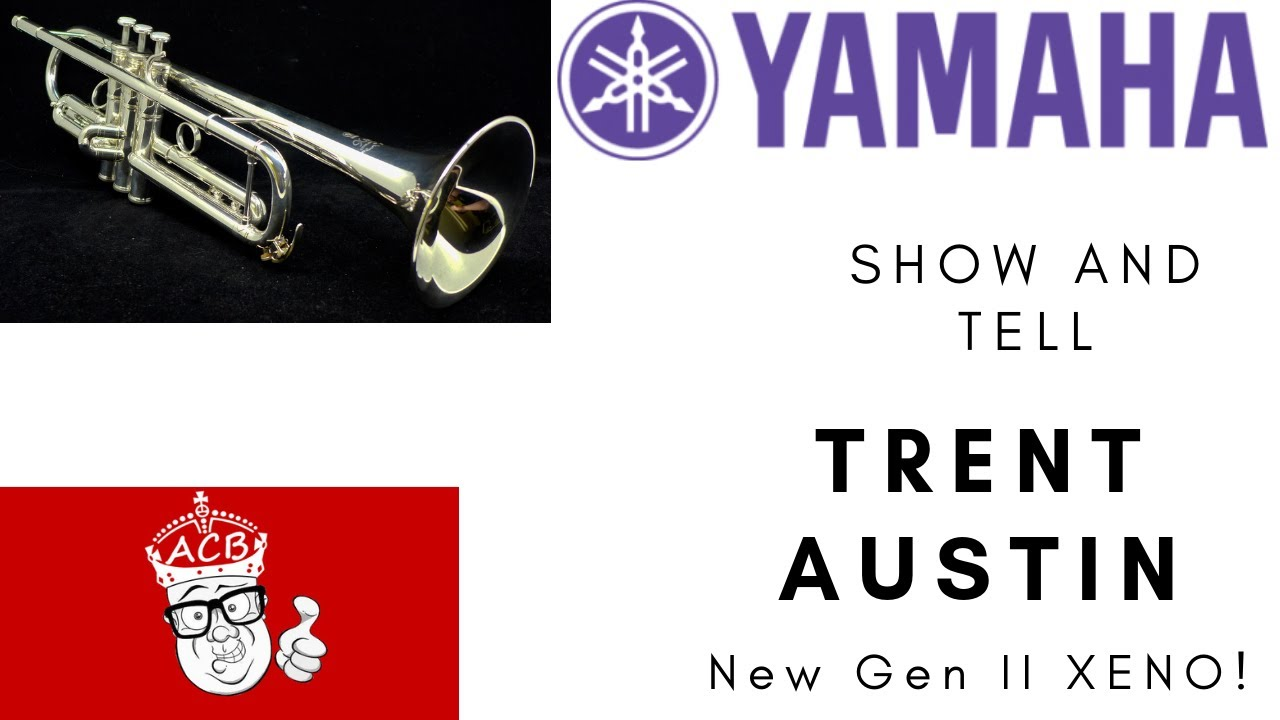 Pre-owned Yamaha 8335R II 2nd generation Xeno Reverse Leadpipe Trumpet in  silver plate