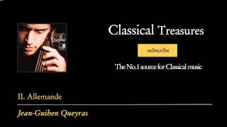 Johann Sebastian Bach - II. Allemande - Suite No. 6 en Ré majeur, D major, D-dur BWV 1012