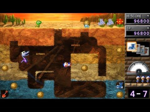 Namco Museum Battle Collection (PSP) Dig Dug Arrangement
