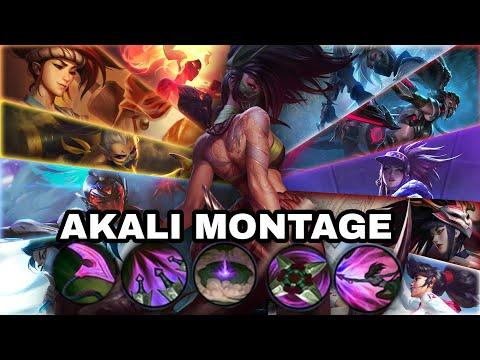 Ultimate Akali Montage: Akali Is Broken In Wildrift: Wildrift