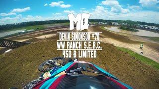 2018 WW Ranch SERC Devin Simonson Shreds his 250 in 450 B MotoChasin