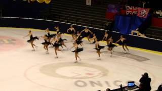 Skyliners Synchronized Ice Skating - Junior Long Program - JWCC 2012
