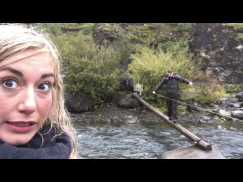 Hiking to Glymur Foss (Waterfalls) in Iceland!