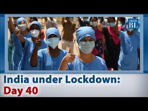 "India under lockdown: Day 40 - India salutes ""Corona Warriors"""