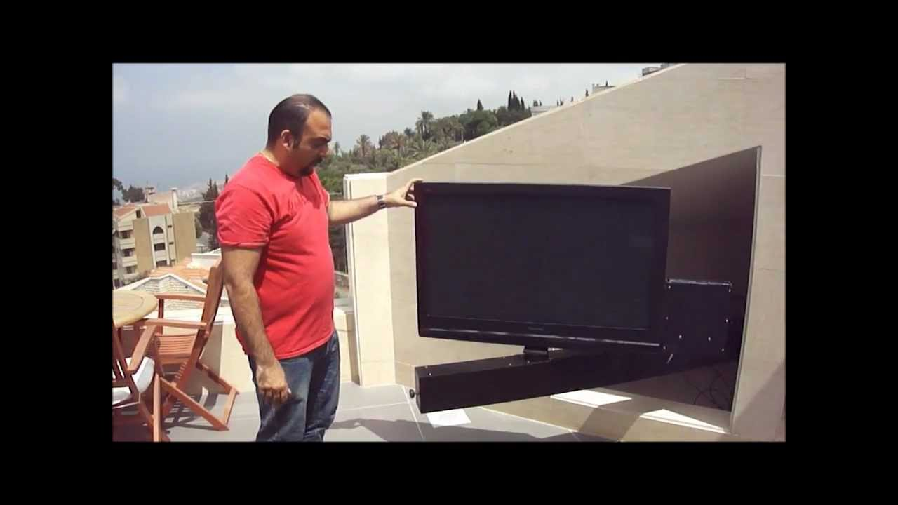 TV Bracket Slide out and rotate By Martontechnologies, Lebanon ...