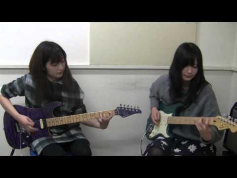 Miki Kato -Ijime Dame Zettai (Babymetal) with Miyuki Yagi(Guitar)