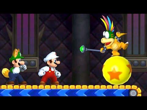 New Super Mario Bros. 2 - 100% Walkthrough - World Flower (2 Player)