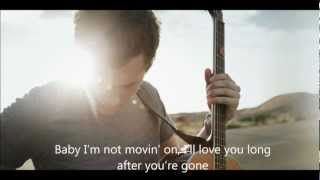 Phillip Phillips - Gone Gone Gone Lyric Video