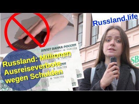 2,3 Mio. Russen: Reisesperre vom Gerichtsvollzieher