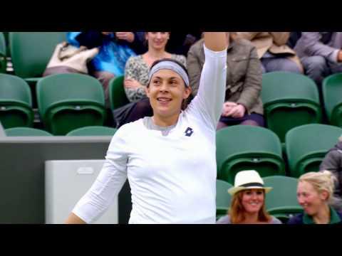 Marion Bartoli's road to the Wimbledon 2013 Final