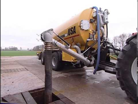 USA Equipment 7000 G slurry tanker - arable land injector ...