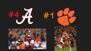 Alabama Vs. Clemson: PREVIEW AND PREDICTION