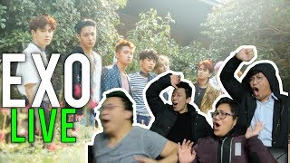 EXO LIVE (THE EVE and KO KO BOP stage reactions)