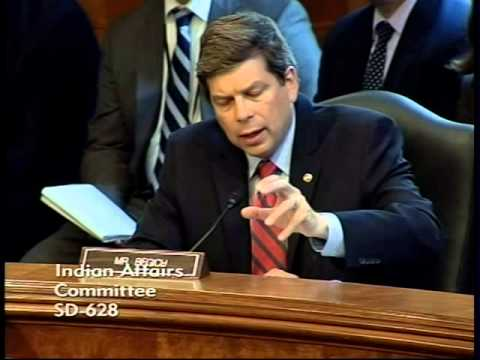 Begich Pushes IHS Director on Contract Support Costs