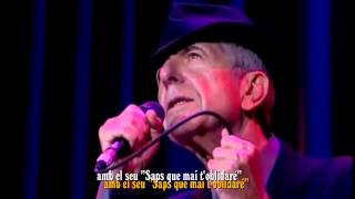 Leonard Cohen LIVE IN LONDON subt català 18 Take This Waltz