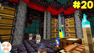 NETHER STORAGE ROOM!   Minecraft 1.16 Nether Survival (Ep. 20)