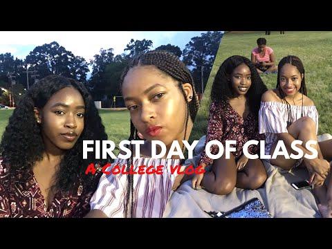 FIRST DAY OF SCHOOL GRWM & COLLEGE VLOG 2