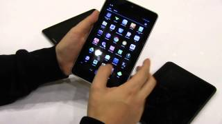 Kindle Fire HD vs Nexus 7 vs Samsung Galaxy Tab 7.7 - 7 Tablet Shoot out
