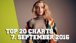 TOP 20 SINGLE CHARTS - 7. SEPTEMBER 2016