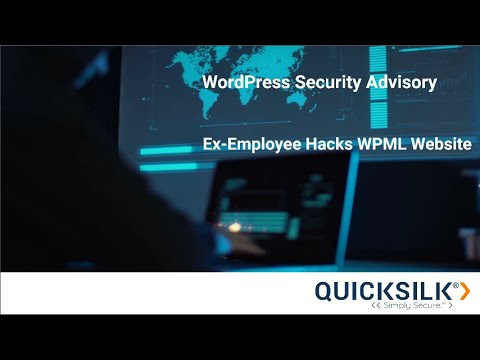 WordPress Security Advisory - WPML Website Hack