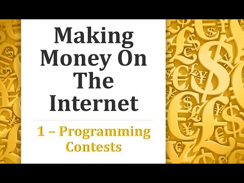 Making Money on the Internet - Programming Contest