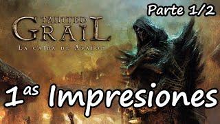 [1as Impresiones] Tainted Grail - parte 1/2 - Historia, Componentes, Preparación y Mecánicas