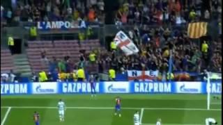 Barcelona vs Celtic 7-0 All Goals (UCL) 14-09-2016