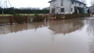 Potvynis Zujūnuose 2017 vasario 21