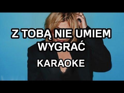 Ania Dąbrowska - Z Tobą nie umiem wygrać [karaoke/instrumental] - Polinstrumentalista