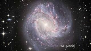 Nueva visión de M83, una galaxia espiral clásica