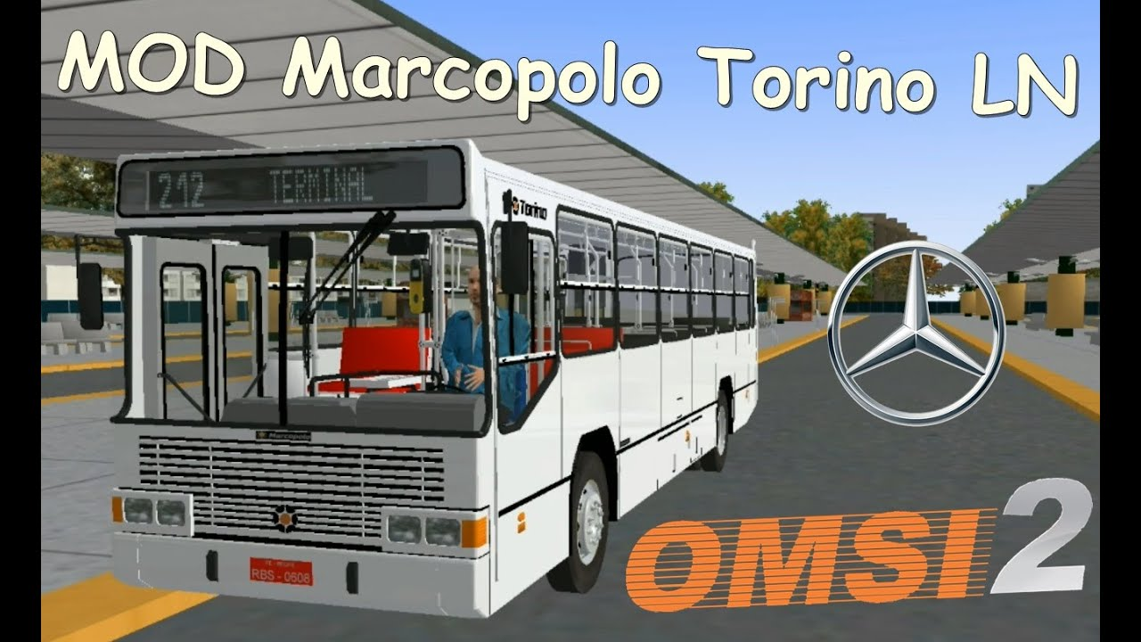 MOD Marcopolo Torino LN MB OF-1318 no OMSI 2 (+Download) - YouTube