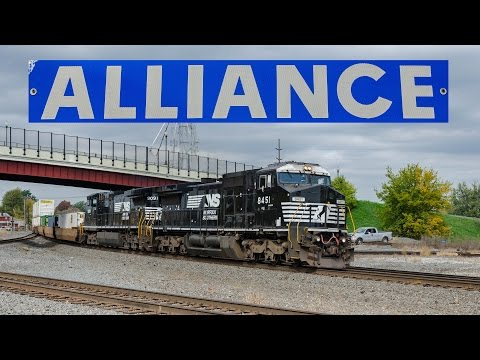 Norfolk Southern in Alliance, Ohio