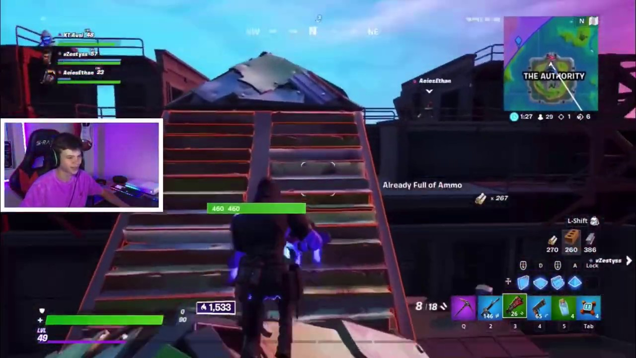 Grinding to champions league in Fortnite Battle Royale ...