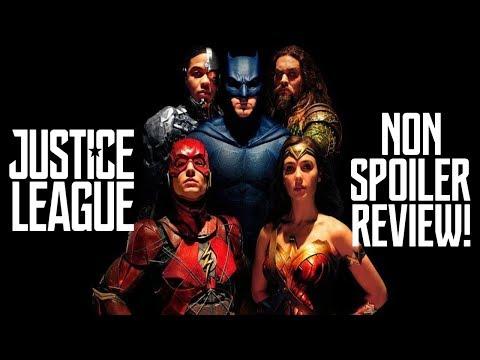 Justice League Non Spoiler Review!!!