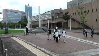 富山市 富岩運河 環水公園~中島こう門まで 県民歩こう運動推進大会が開...