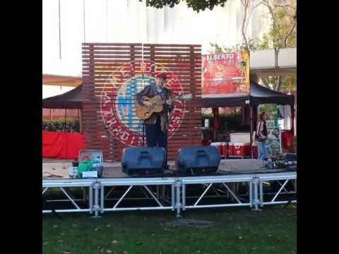 Melrose Music Sundays - Johanna Chase - 2016 at the Melrose Trading Post