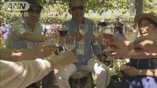 新酒を楽しむワイン祭り 限定「もろみワイン」も(19/09/07)