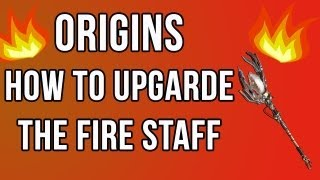 Origins - How To Upgrade The Fire Staff (Ultimate Staff) Black Ops 2 Zombies