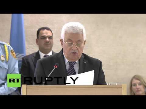 Switzerland: President Abbas slams Netanyahu's Holocaust claims