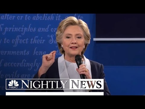 Hillary Clinton Campaign Blames Russia For Leaked Wall Street Speeches | NBC Nightly News