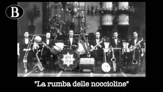 """Pippo Barzizza dirige """"La rumba delle noccioline"""", di M. Simons. Orchestra Blue Star, 1932."""