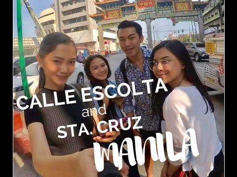 Calle Escolta & Sta. Cruz Tour Guiding